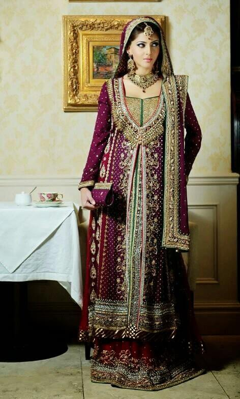 Shadi dresses for dulhan pictures