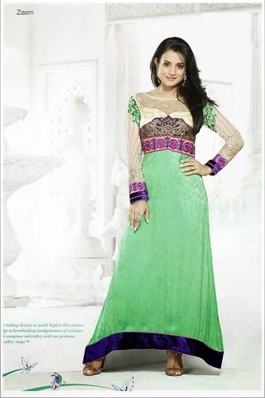 Amisha Winter long dress