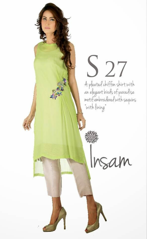 Latest Insam Winter Dress Collection 2014-15 For Girls
