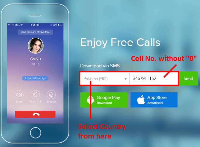 Free Call And SMS On Mobile Over The World Amazing Trick
