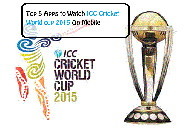 ICC cricket World cup 2015 Apps