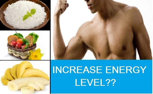 How to increase energy level