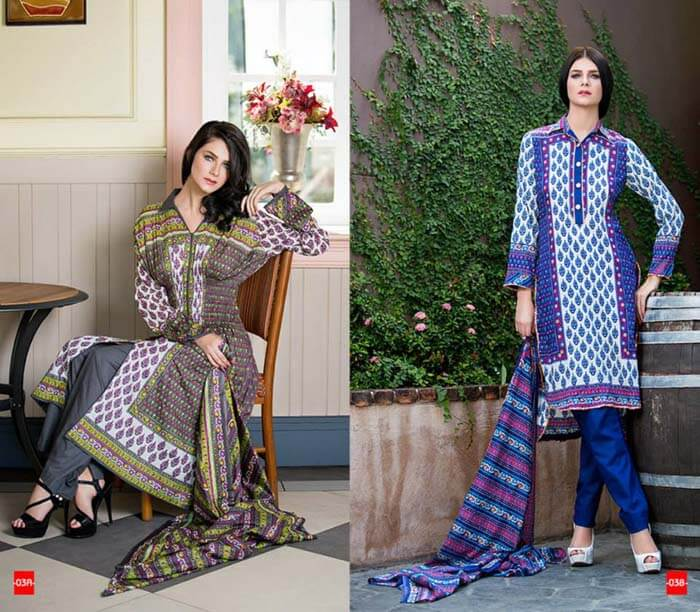 summer lawn prints, Swiss eid collection
