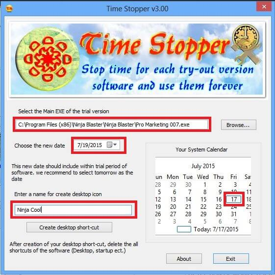 how to use time stopper