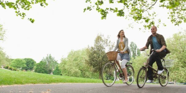 bicycle ride for Lower Blood Sugar